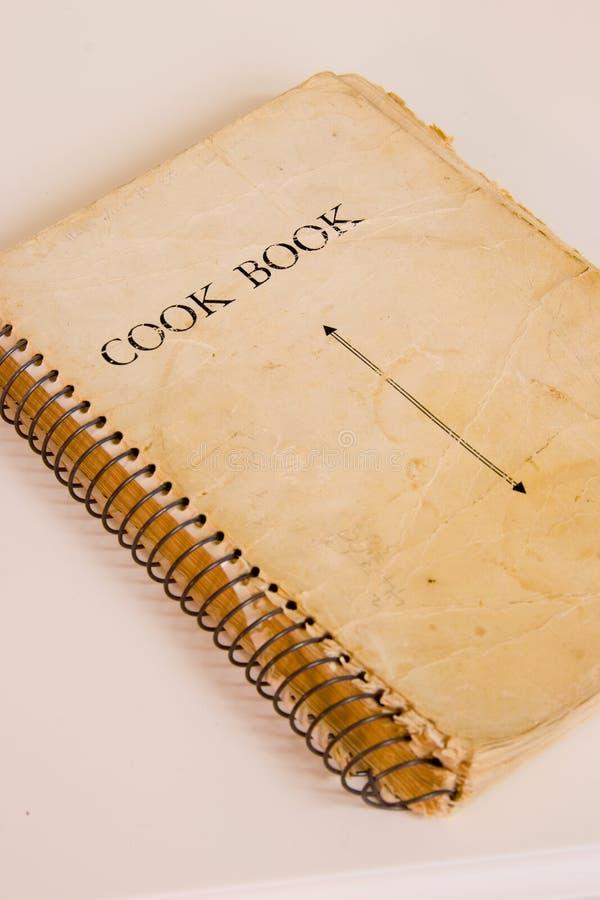 Cucini il libro immagine stock