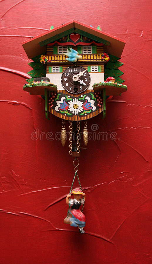 Download Cuckoo Clock stock image. Image of colors, painted, decor - 6391101