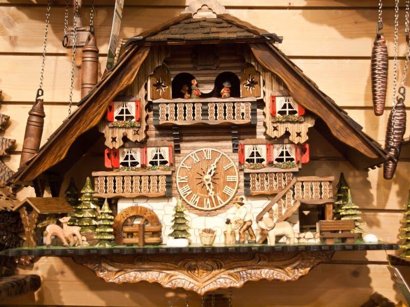 Download Cuckoo Clock stock photo. Image of region, clock, architecture - 43579252