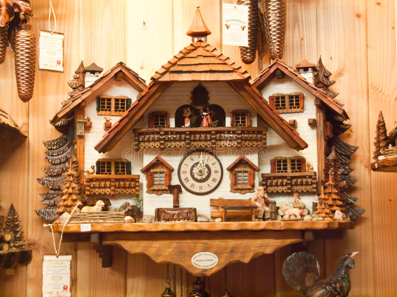 Download Cuckoo Clock stock image. Image of triberg, germany, region - 43579439