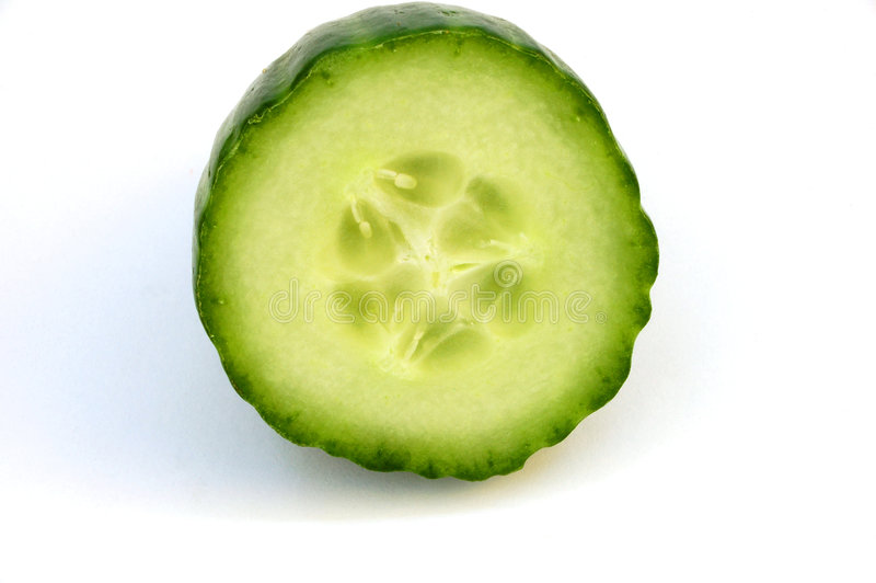 Cucumber #2 royalty free stock image