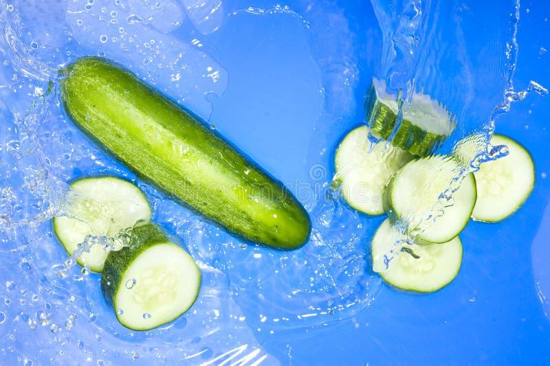 Download Cucumber And Splashing Water Stock Images - Image: 11637254