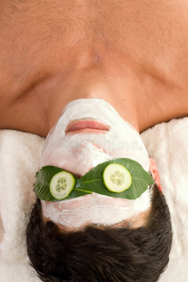Free Cucumber Yoghurt Mask Royalty Free Stock Photography - 603257
