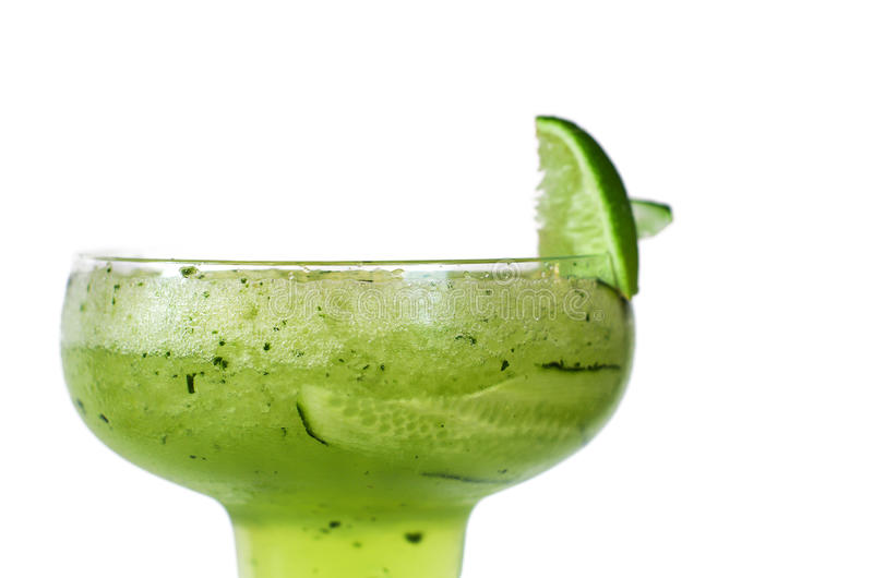 Cucumbers margarita stock photography