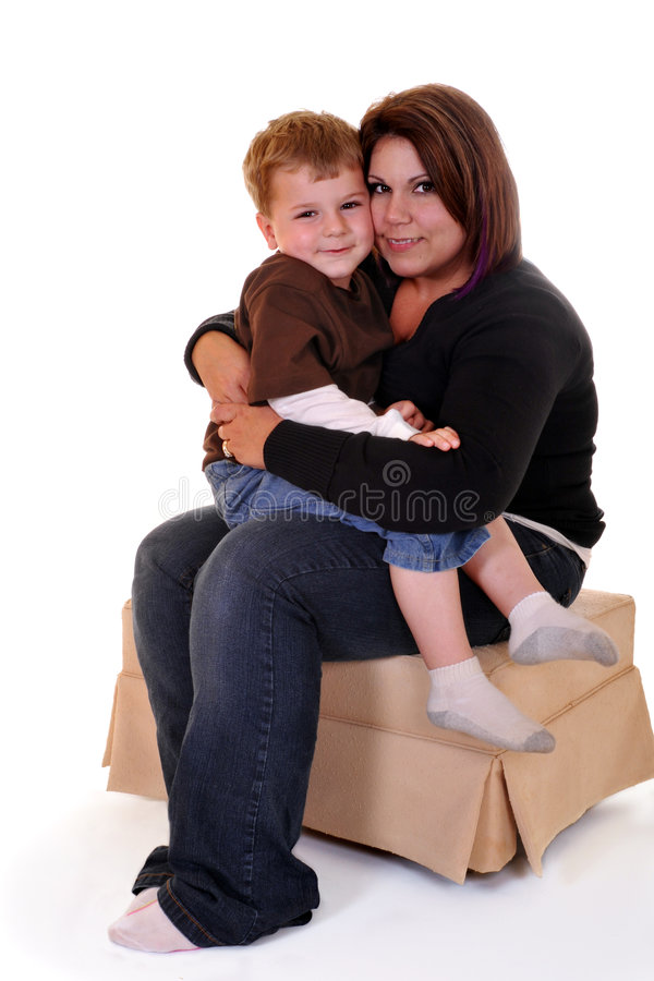 Cuddle Time stock images