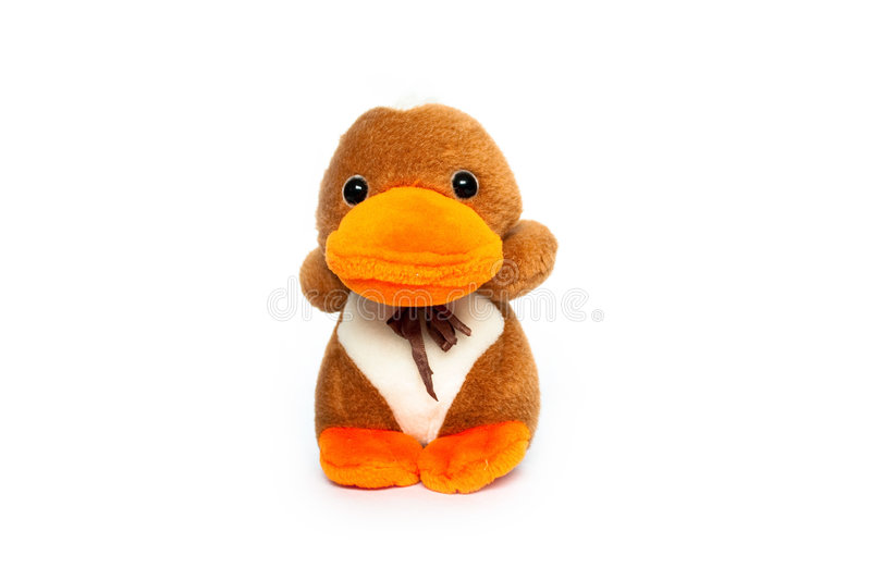 Download Cuddly Duck Gift Toy Royalty Free Stock Photos - Image: 7377248