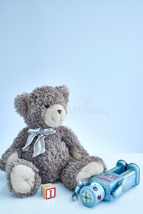Cuddly Toy Bear royalty free stock photography