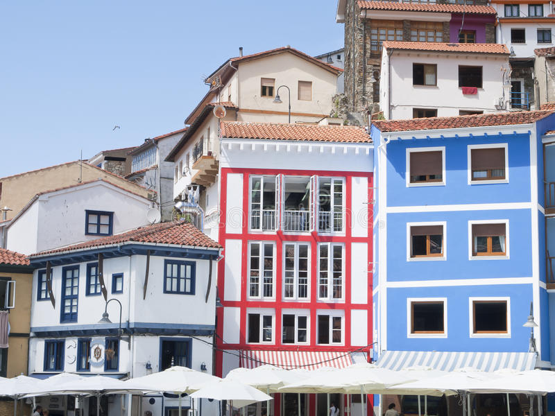 Cudillero royalty free stock photography