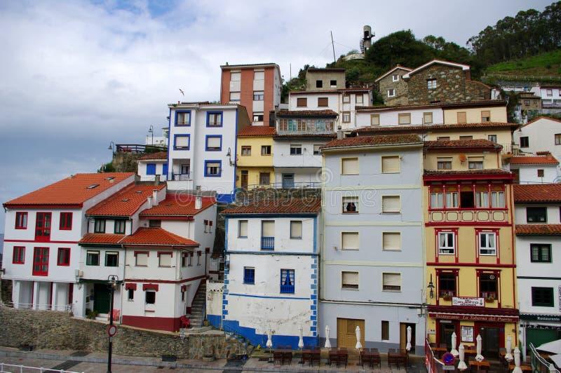 Cudillero, as Astúrias, Spain fotos de stock royalty free