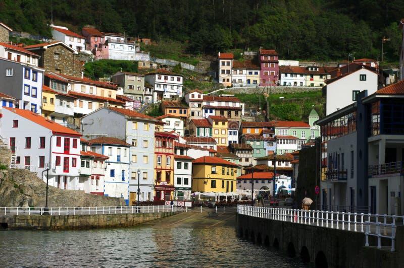 Cudillero, as Astúrias, Spain fotografia de stock royalty free