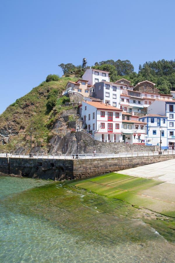 Cudillero, Asturias, Spanien stockfotografie