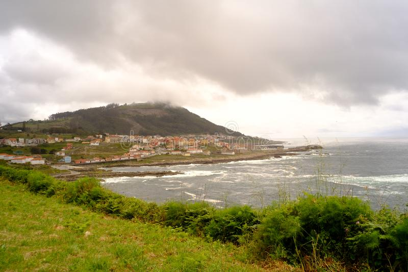 Cudillero, Asturias, Spanien lizenzfreie stockfotografie