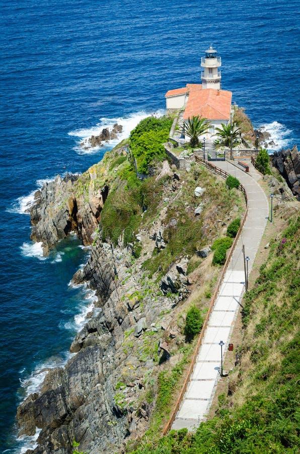 Cudillero Noordelijk Spanje royalty-vrije stock foto