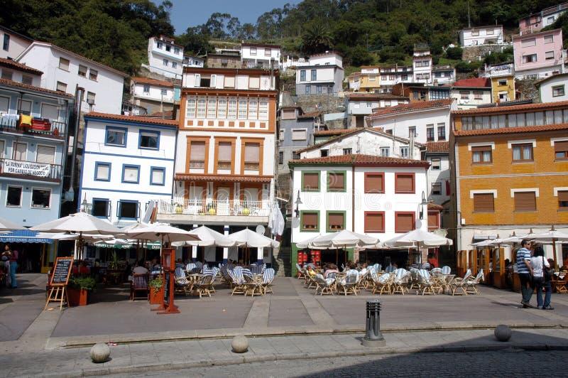 Download Cudillero Spagna fotografia stock. Immagine di ristorante - 3881322