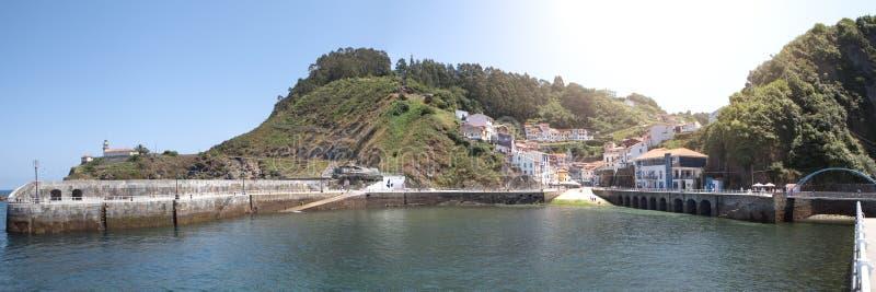 Cudillero Village, Asturias region stock image