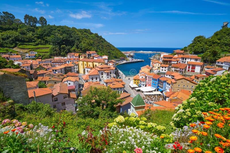 Cudillero village in Asturias Spain stock photography