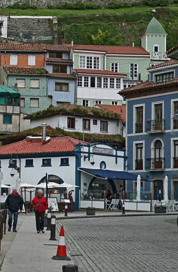 Cudilleros Asturias, Spanien royaltyfria bilder