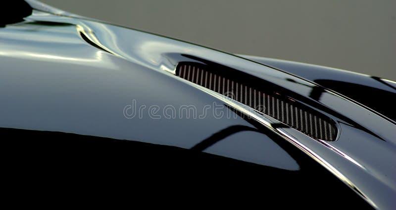 Cudowna luksusowa samochodowa sztuka zdjęcia royalty free