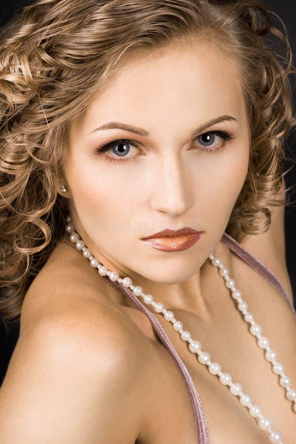 cudowna portret kobieta zdjęcia stock