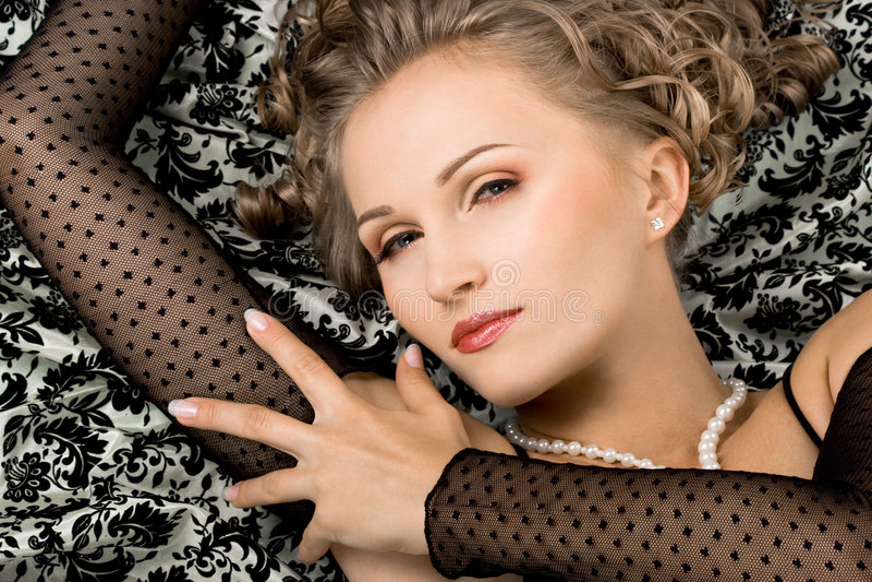 cudowna portret kobieta fotografia stock