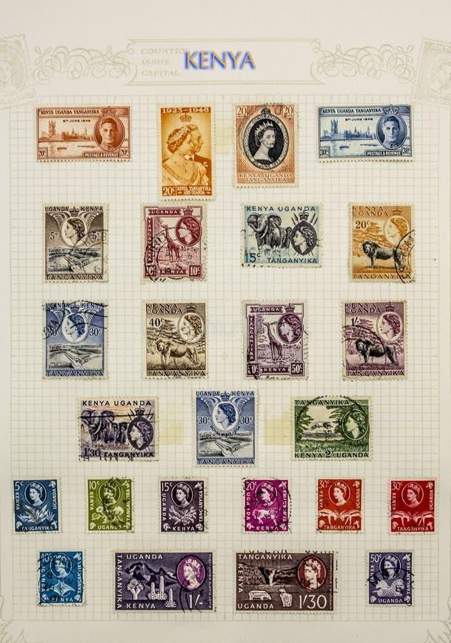 Cudowni znaczki pocztowi obraz stock