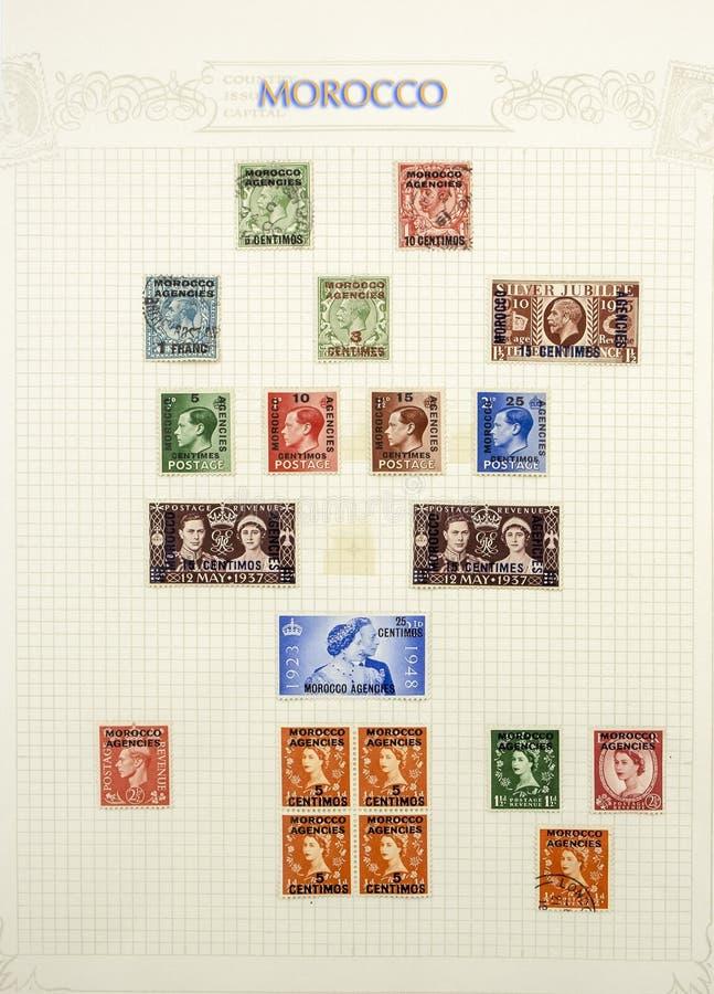 Cudowni znaczki pocztowi obrazy stock