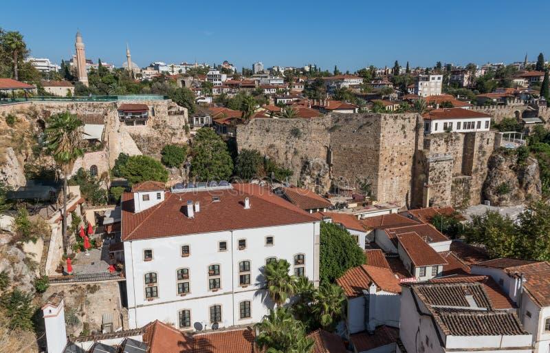 Cudowny brzegowy miasteczko Antalya, Turcja obraz stock