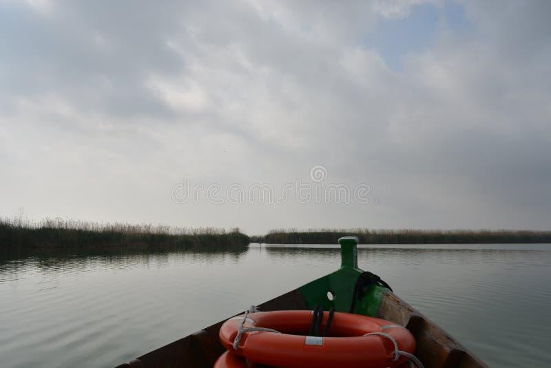Cudowny krajobrazowy Albufera obraz stock