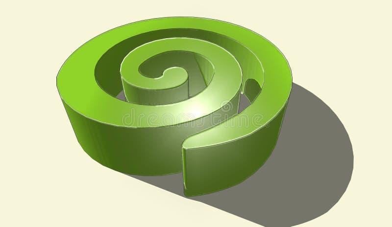 cudowny logo zdjęcie stock