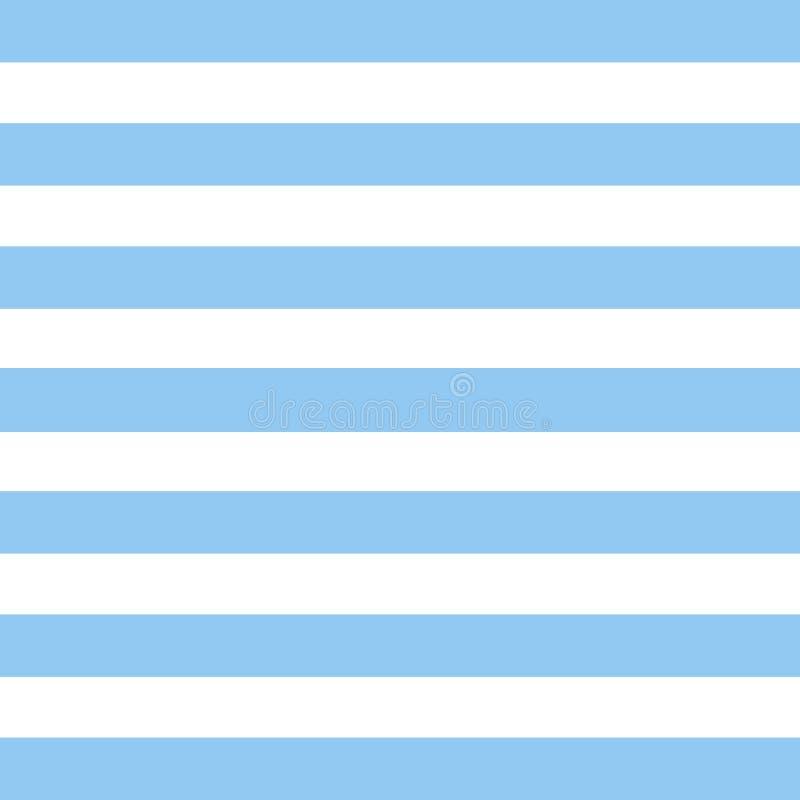 Cudowny prosty biały tło projekt z horyzontalnymi niebieskimi liniami ilustracji