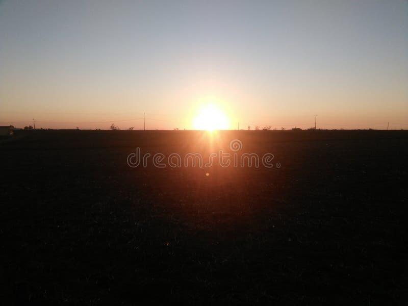 Cudowny słońce obrazy stock