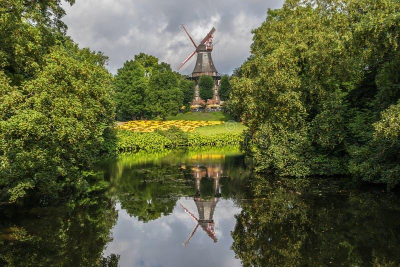 Cudowny Stary Grodzki Bremen, Niemcy fotografia royalty free
