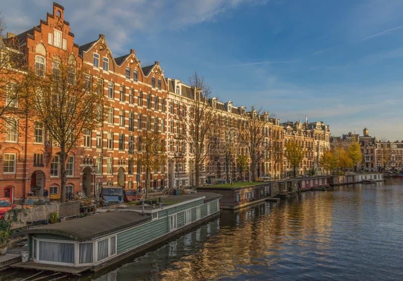 Cudowny Stary miasteczko Amsterdam, holandie obraz stock