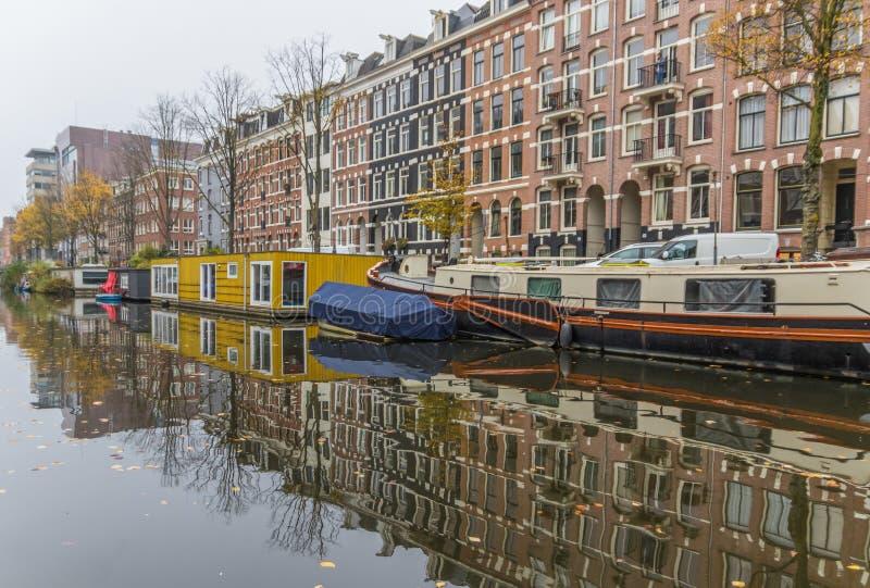 Cudowny Stary miasteczko Amsterdam, Netherland obraz stock