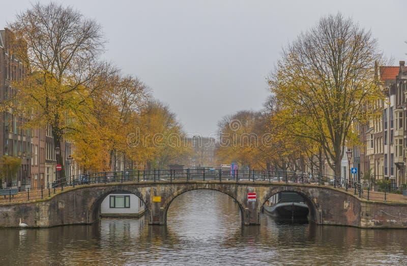 Cudowny Stary miasteczko Amsterdam, Netherland zdjęcia stock