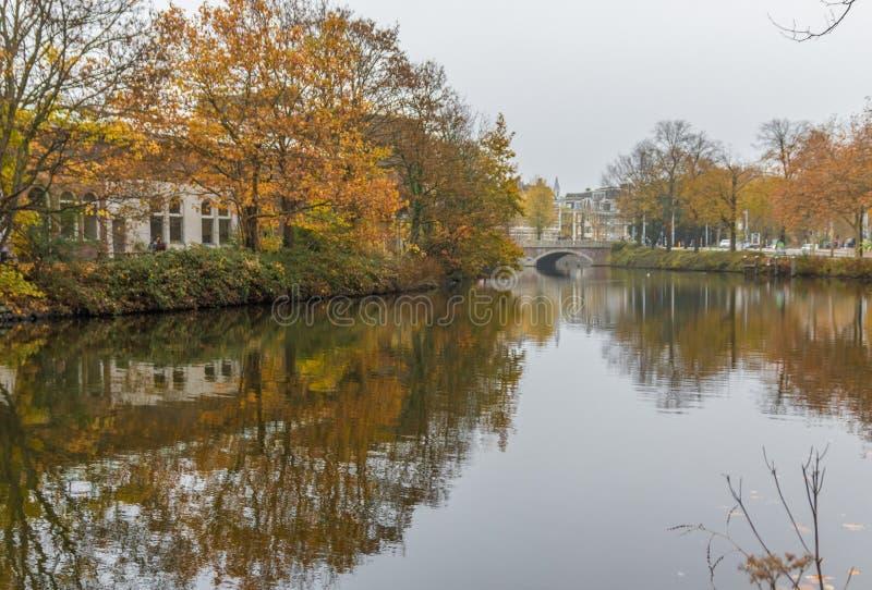 Cudowny Stary miasteczko Amsterdam, Netherland obrazy royalty free
