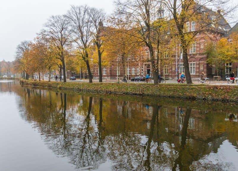 Cudowny Stary miasteczko Amsterdam, Netherland obraz royalty free