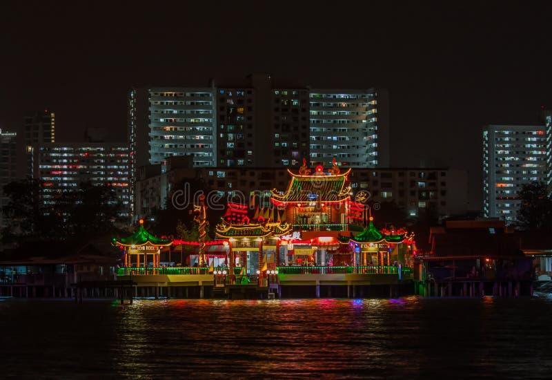 Cudowny Stary miasteczko Georgetown, Malezja obraz royalty free