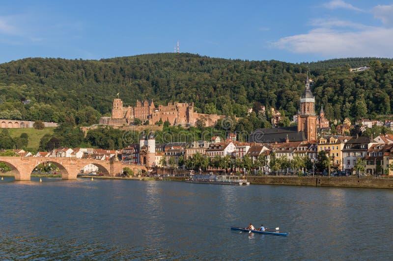 Cudowny Stary miasteczko Heidelberg zdjęcia stock