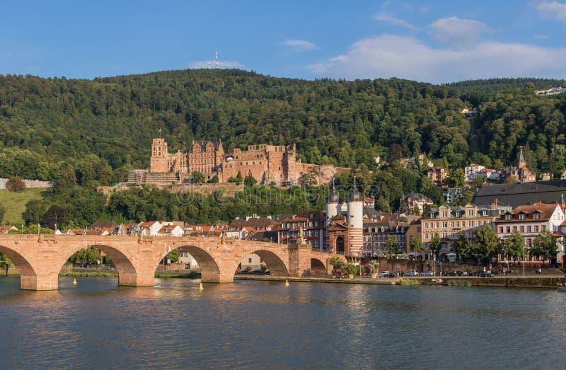 Cudowny Stary miasteczko Heidelberg obraz stock