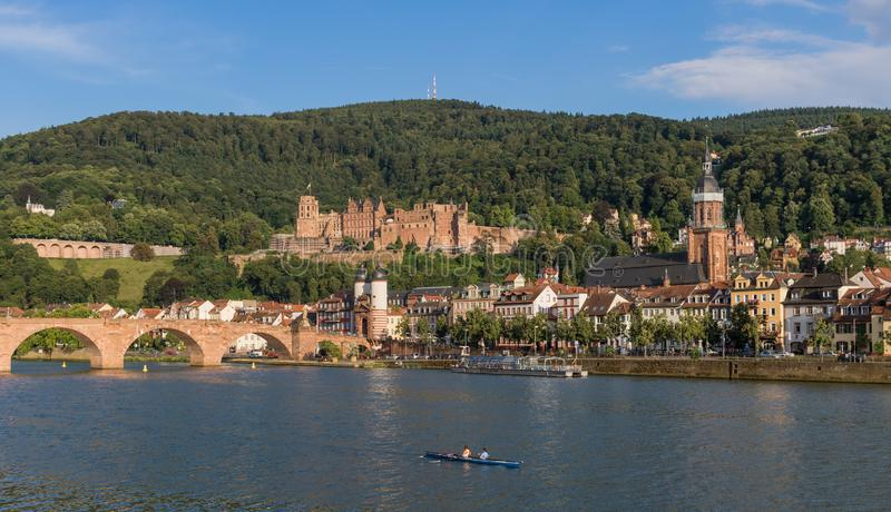 Cudowny Stary miasteczko Heidelberg zdjęcia royalty free