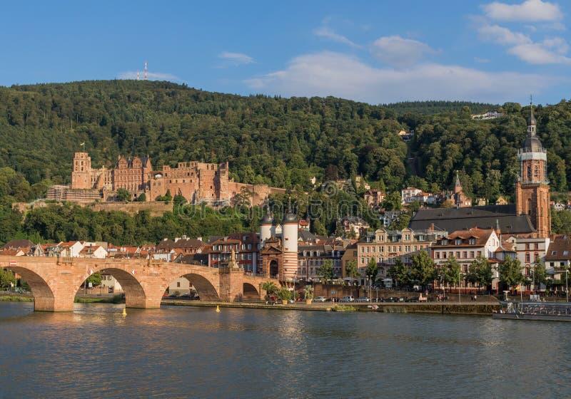 Cudowny Stary miasteczko Heidelberg fotografia stock