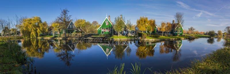 Cudowny Zaanse Schans, Netherland obrazy stock