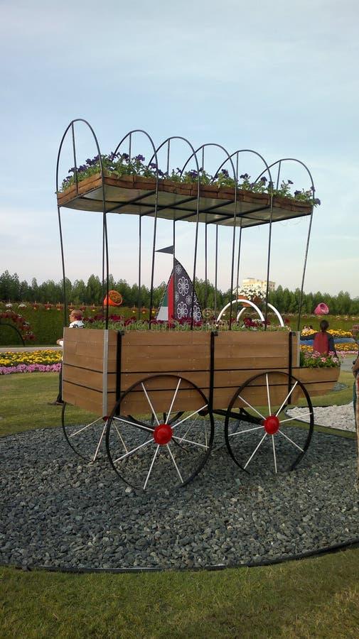 Cudu ogród, Dubaj, Zjednoczone Emiraty Arabskie zdjęcia stock
