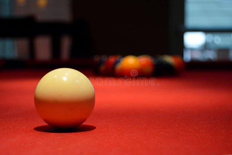 Cue Ball royalty free stock photo