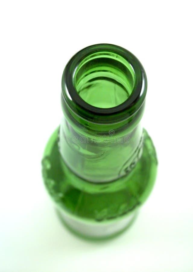 Cuello de la botella foto de archivo