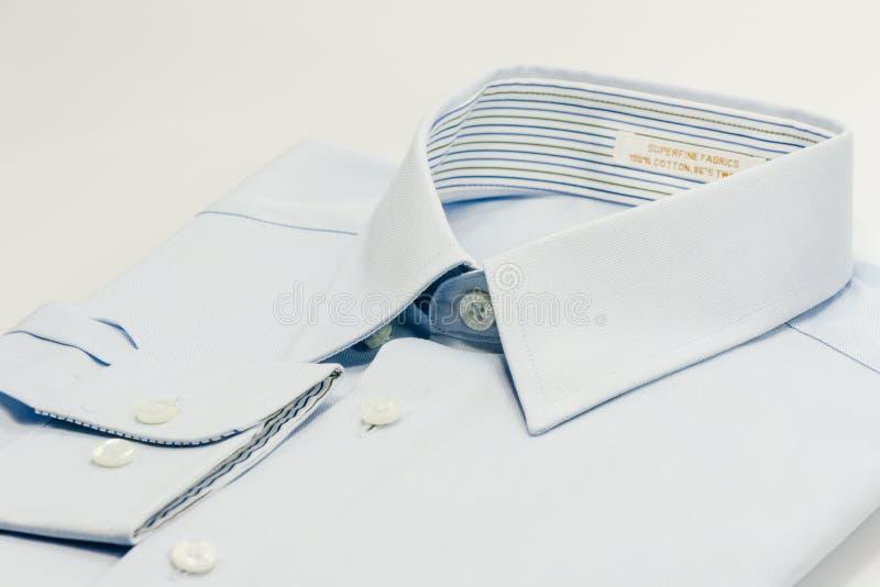 Cuello de la camisa foto de archivo libre de regalías