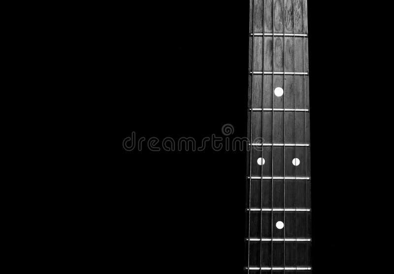 Cuello de la guitarra fotografía de archivo libre de regalías