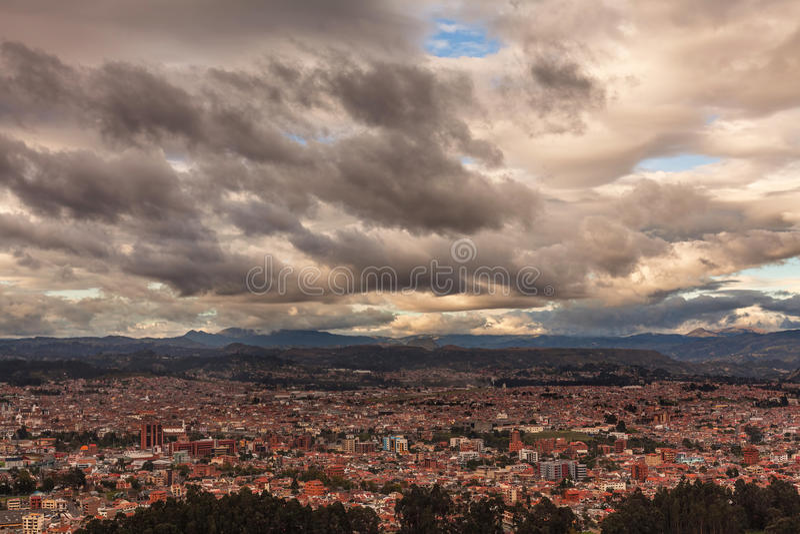 Cuenca, Νότια Αμερική, Ισημερινός στοκ εικόνες