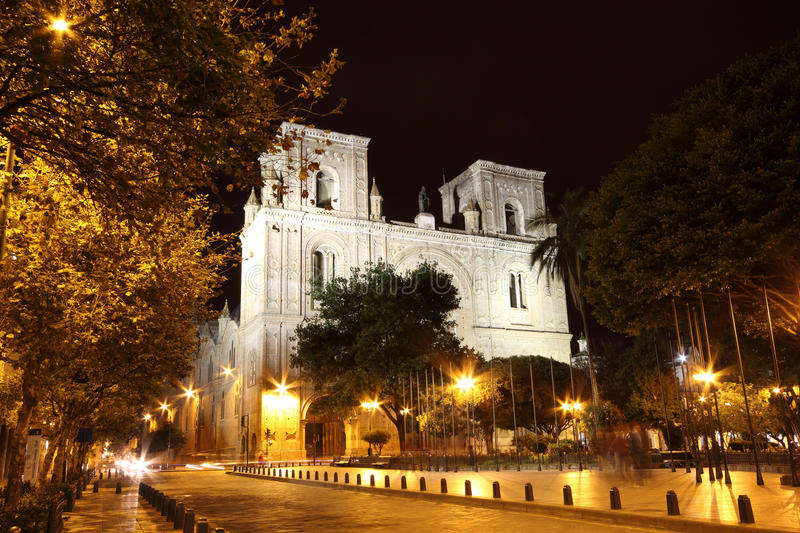 Cuenca Cathedral royalty free stock photo